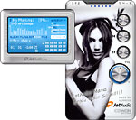 iAUDIO M3 (3-type skins included) Ver. 1.0